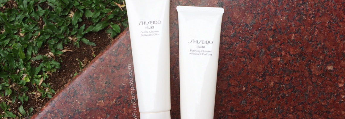 Shiseido Ibuki Gentle and Purifying Cleansers – Good Basics
