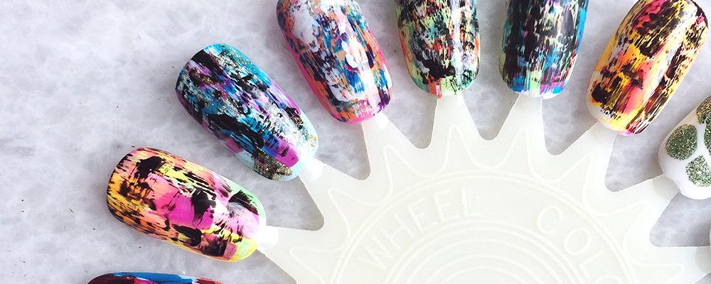 Tutorial: Distressed Nail Art