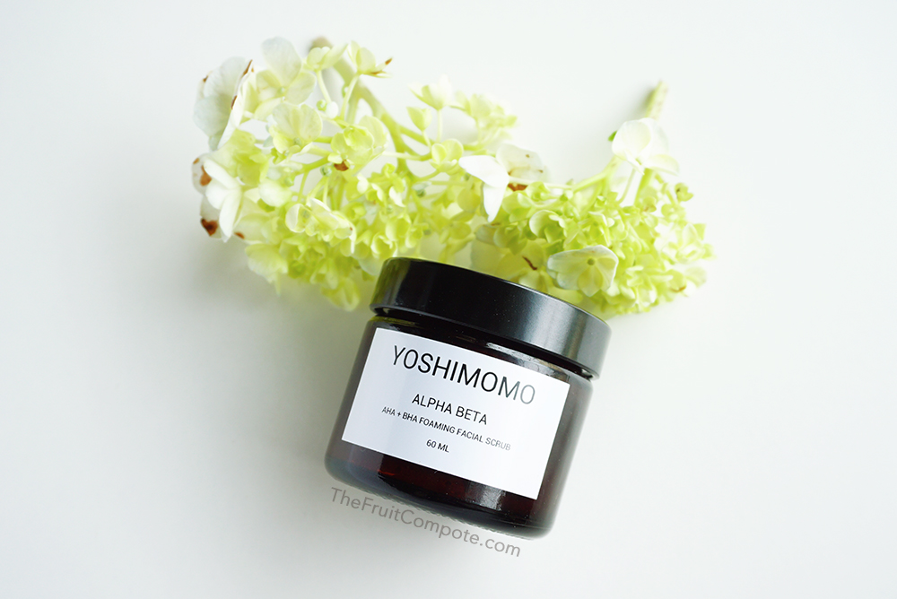 yoshimomo-alpha-beta-aha-bha-foaming-facial-scrub-review-swatch-photos-2